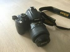Nikon d5000-Top estado - 12.3mp d-SLR-con Nikon DX 18-55mm objetivamente