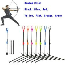 New listing Bow Stand Holder Foldable Bracket Rack Hanger Archery Recurve Compound Bow YU