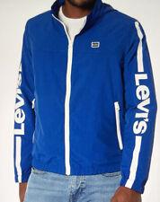 Levi's Men's Lightweight Retro Stand Collar Windbreaker Jacket Size XXL Royal Bl