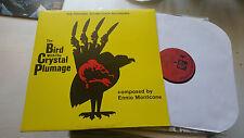 THE BIRD WITH THE CRYSTAL PLUMAGE LP dario argento susperia ennio morricone '70!