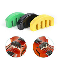 Acoustic Electric Rubber Violin Silencer Violin Practice Mute Accessories  CA