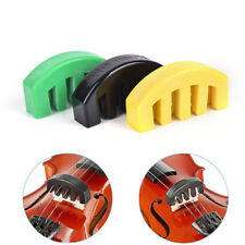 Acoustic Electric Rubber Violin Silencer Violin Practice Mute Accessories 、