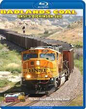 Badlands Coal BNSF's Dickinson Sub BLURAY DVD NEW