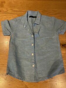 Boys Linen Shirt From Next Age 1.5-2 Years