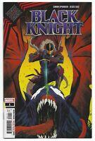 King in Black Black Knight #1 2021 Unread Dan Mora Main Cover Marvel Comic Book
