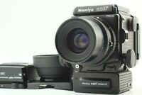 【NEAR MINT+3】 Mamiya RZ67 Pro II + Sekor Z 90mm F3.5 W 120 Film Back From JAPAN