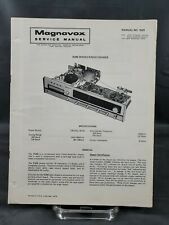Magnavox Repair Service Parts Manual For 1974 R288 Series Radio Chassis