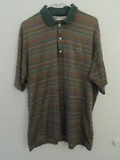 Slazenger Polo Shirt Golf Size XL San Marcos Cotton Short Sleeve Men's