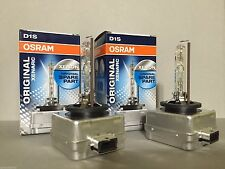 2X NEW OEM 2PCS OSRAM XENARC D1S 66144 ORIGINAL 4300K HID XENON LIGHT BULBS