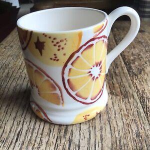 Emma Bridgewater Half Pint Mug Oranges New