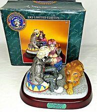 All Star Circus Emmett Kelly 20th Anniversary Clown Figurine Lion Monkey Le 9751
