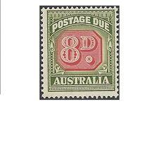 Australia 1958 8d POSTAGE DUE, Die I Mint Unhinged ACSC D153 (CV $30)