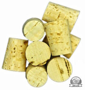 Tapered Corks Bung Stopper Bottle size from 4mm to 27 mm