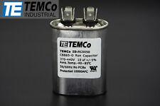 TEMCo 10 MFD uF Run Capacitor 370/440 vac Volts AC Motor HVAC 10 uf