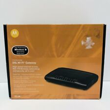 Motorola DSL Wi-Fi Gateway 2247-n8 wireless modem