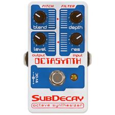 Subdecay Octasynth Monophon Pedal Effektgerät NEU NEW