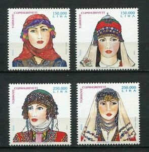 31169) Turkey 1999 MNH Traditional Head Covers 3