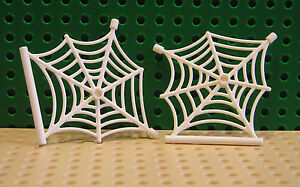 LEGO New Parts - 2x White SPIDERS WEB - Spiderman 76005 / Hobbit 79014  --90981