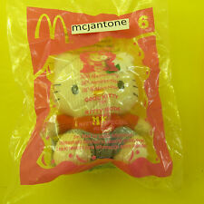 MIP McDonald's 2004 Hello Kitty #6 COOL CAT Corduroy Plush Toy SANRIO Small HK