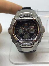 Casio Mens Gshock G511 Black Silver Digital Analog Combo Watch #5