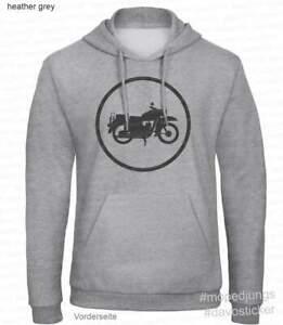 "Kapuzen Sweater Hoodie ""MZ ES 150"" Mopedjungs Simson MZ Trabant IFA TS DDR"