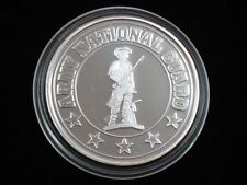 1 oz Silver Round - .999 silver * U. S. Army National Guard * (S-409)