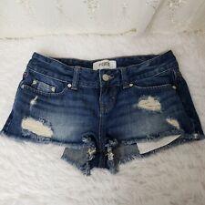 Victoria's Secret PINK Distressed Denim Cut Off Shorts - GUC