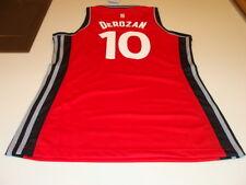 NBA Toronto Raptors Demar DeRozan Adidas Jersey Red Ladies Women 2015-16 Small