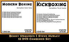 Modern Boxing & Kickboxing - Benny Urquidez & Steve Hurley Combined (15 DVD Set)