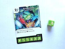 DC dice Masters World's Finest-Kryptonita, peste verde #090