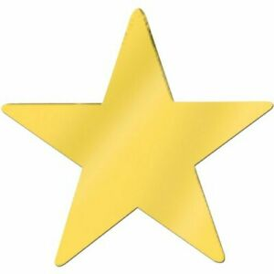 The Beistle Company Jumbo Foil Star Cutout (Pack of 12) Christmas product