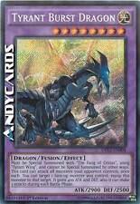 INGLESE Tyrant Burst Dragon /  Drago Tiranno Esplosivo ☻ Segreta ☻ DRL2 EN004