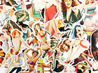 50 Sexy Retro Girl Pin Up Women Vinyl Skateboard Stickers - Fast US Shipping
