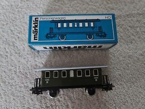 NEU / Märklin H0 / 4040 Personenwagen aus Blech / mit OVP