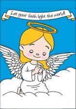 "28""X40"" Angel Girl Garden Flag Prayer God Religious Banner Praying Approx 2x3"