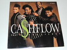 """CA$HFLOW that's the ticket 12"""" RECORD CASHFLOW CASH FLOW I NEED YOUR LOVE 1988"""