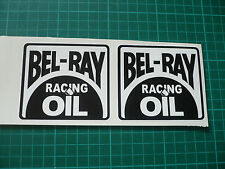 BEL-RAY Racing Oil Stickers