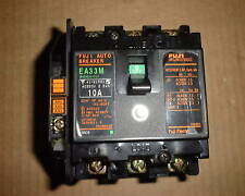 Fuji Auto Breaker EA33M 10 amp rating with aux switch