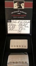 Seymour Duncan Custom Shop Pearly Gates Humbucker PAF Neck Bridge Aged Nickel