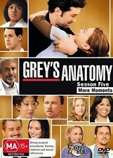 Grey's Anatomy : Season 5 (DVD, 2009, 7-Disc Set) Region 4