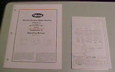 Hatco Operating Manual Electric Hot Water Booster Heater Imperial S Compact C Mc