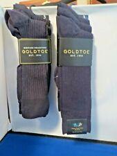 Gold Toe Socks-Men's-Navy (2 Packs-6 Pair)  #1807