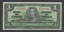 CANADA - $1  1937  KGVI Osbourne P58a Uncirculated-ms.67  World Paper Money