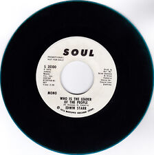 EDWIN STARR-SOUL35100 PROMO FUNK SOUL 45RPM WHO IS THE LEADER OF THE PEOPLE VG++