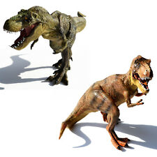 Large Tyrannosaurus Rex + Indominus Rex Dinosaurs Toy Model Birthday Gift T-Rex