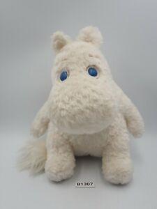 "Moomin White B1307 Sekiguchi Plush 7.5"" Stuffed Toy Doll japan"