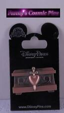 Disney Snow White and the 7 Dwarfs-Evil Queen Heart Box Jewels Trading Pin