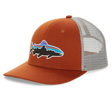 Patagonia   Mens Fitz Roy Trout Trucker Hat   Copper Ore
