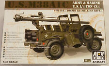 AFV Club 1/35 1/4 Ton M38A1C Army & Marine Jeep w 106mm Recoilless Rifle 35S19
