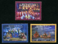 Myanmar Burma 2018 Unabhängigkeit Folklore Trachten Puppentheater Postfrisch MNH